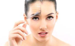 убрать морщины на лице
